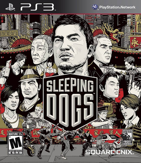 Sleeping Dogs Ps3, Impecavel, Completo, Importado