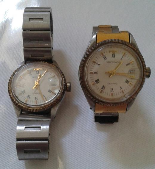 Relógio Technos Antigo Cx Pequena