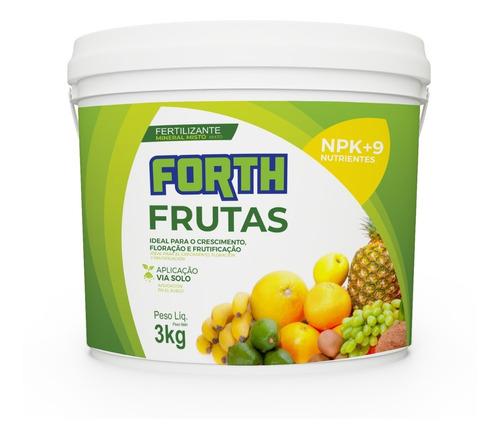 Imagem 1 de 1 de Fertilizante Forth Frutas 3 Kg Me