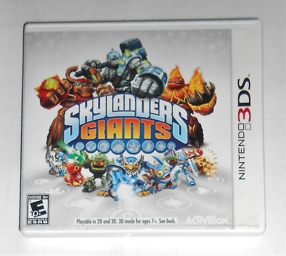 Skylanders Giants Original Testado Nintendo 3ds Cr $15