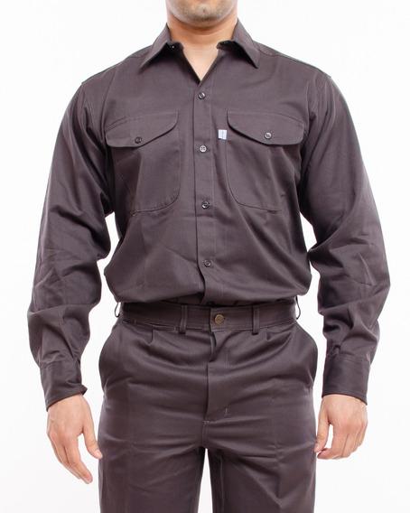 Camisa De Trabajo Ombu 32 Al 48 I3