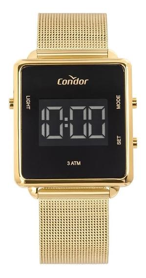Relógio Feminino Condor Digital Dourado Cobjf156ab/4x