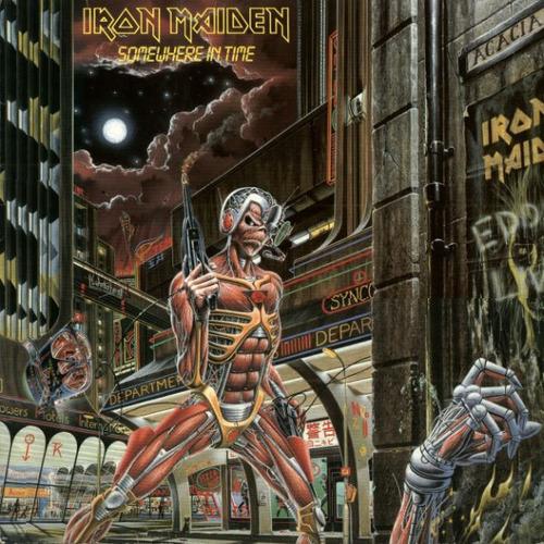 Iron Maiden - Somewhere In Time - Vinilo Nuevo -