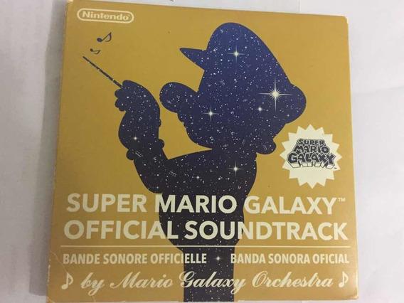 Mario Galaxy Cd Soundtrack Original Caja De Cartón Envíos