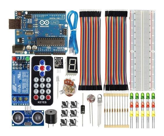 Kit Arduino Completo Uno R3 Básico Iniciante + Brinde + Nota