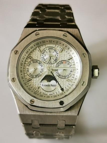 Reloj Audemars Piguet Automático Gmt Maquina Expuesta