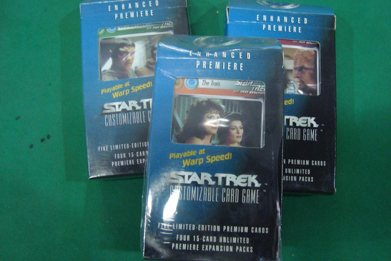Card Games Expasion Pack Star Trek The Next Generation