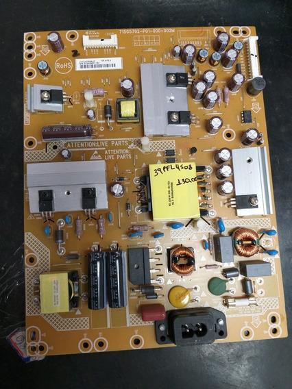 Placa Da Fonte Tv Philips 39pfl4508