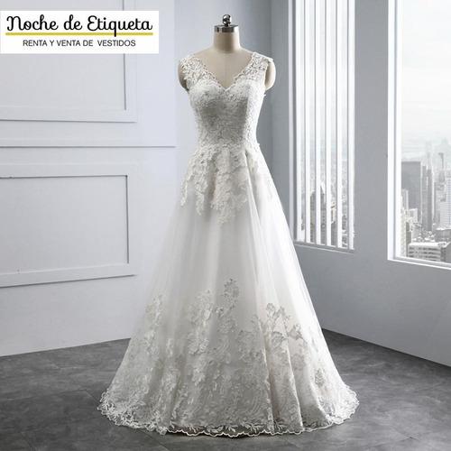 Vestido Novia Nuevo Corte Sirena Blanco/marfil