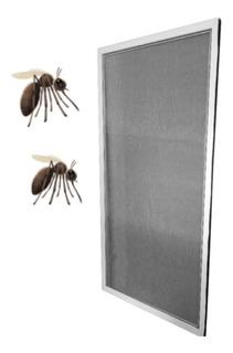 Mosquitero Para Ventana De 120x110 En Aluminio Blanco