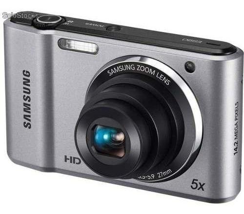 Camera Digital Samsung Es90 Zoom 5x 14.2 Mp Hd + Case Brinde