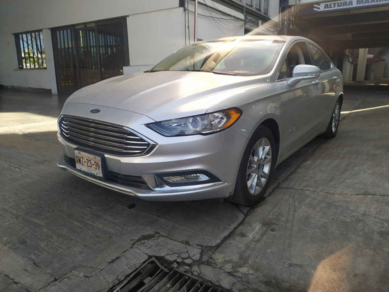 Ford Fusion 2017 4p Se Luxury Hibrido Aut