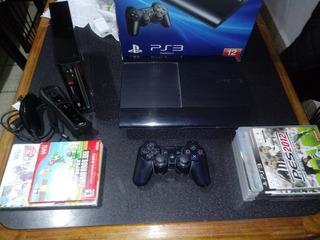 Playstation 3+nintendo Wii+juegos. Detalles En Discripción