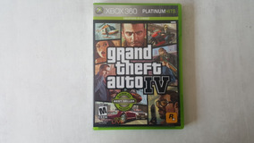 Grand Theft Auto 4 - Gta 4 - Xbox 360 - Original