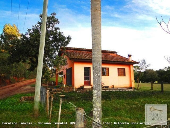 Casa Para Venda Em Mariana Pimentel, Estrada Geral / Rs - 711, 2 Dormitórios, 1 Banheiro, 1 Vaga - 1142_1-693159