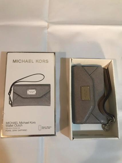 Wallet Clutch Michael Kors Para iPhone 5o 5s Envío Grati