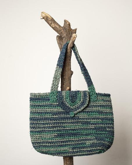 Cartera Tejida Al Crochet Savia