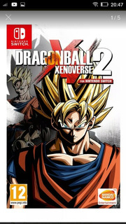 Dragon Ball Xenoverse 2, Nintendo Switch Juego