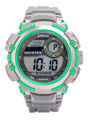 Reloj Strike Watch Resina M1200-0cfc-gygn Hombre Original