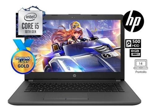 Imagen 1 de 7 de Laptop Portatil Hp Core I5 10ma  Disco Hdd 500gb/8gb/14  Iva