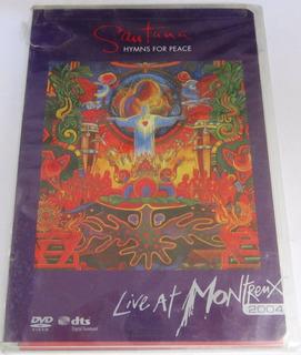 Santana - Live At Montreux 2004 Nuevo Cerrado Import Usa Dvd