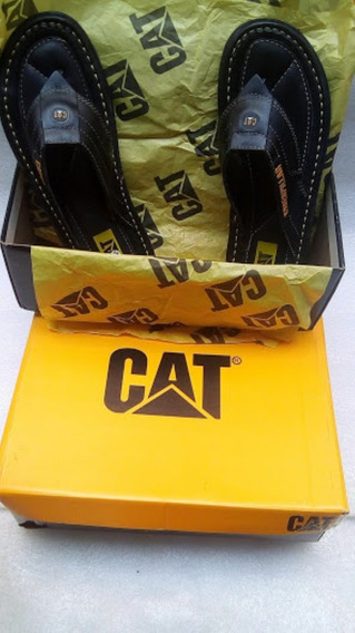 Chinelo Caterpillar + Billetera + Cinturon Talles 37 Al 44