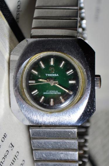 Relógio Tressa 17 Jewels Shockprotected Feminino