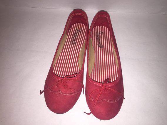 Zapato Rojo Gamuza