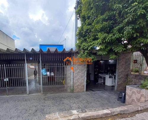 Casa Com 3 Dormitórios À Venda, 175 M² Por R$ 540.000,00 - Jardim São João - Guarulhos/sp - Ca0454