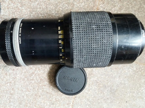 Lente Zoom Nikon 80-200 F:4.5 Mecânica