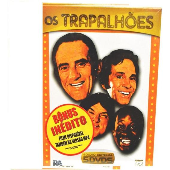 Box Dvd Os Trapalhões - Volume Iii - Edição Especial