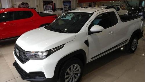Fiat Strada 0km 2021 - Retiralo Con Anticipo De 90mil - L