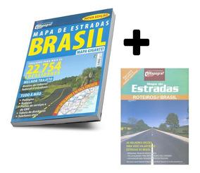 Guia De Estradas Do Brasil Edição + Mapão Brasil