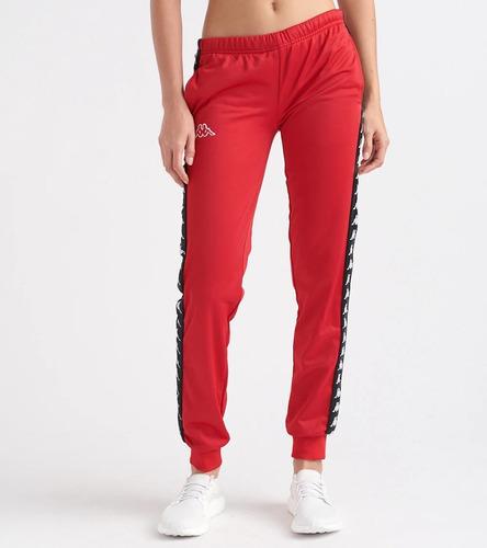 Pantalon Kappa 222 Banda Rastoria Con Puño Ka57 Red Looking