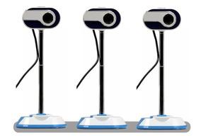 Kit 3 Webcam Ms-830 10mp Usb 2.0 C/microfone