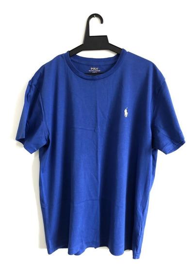 Camisseta Polo Ralph Lauren Azul M 100% Original