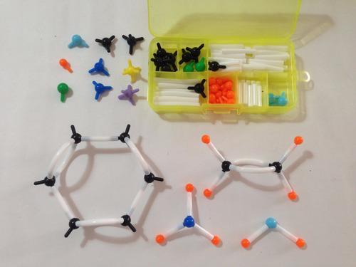 Química Orgánica, Peq Modelos Moleculares, Moléculas Dls1032