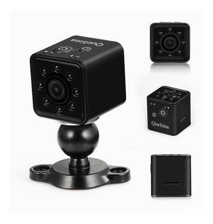 Mini Camera Quelima Sq13 Cor Preta Original