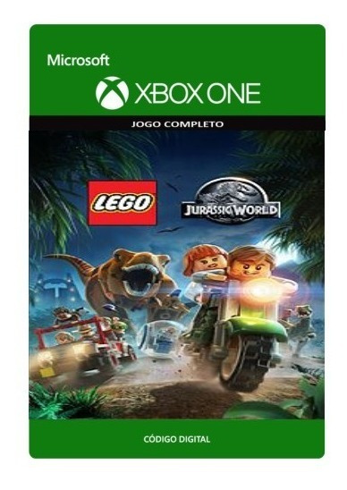 Lego Jurassic World Xbox One Código 25 Dígitos Original