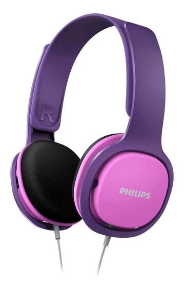 Fone De Ouvido Para Criança Philips Com Limitador De Volume