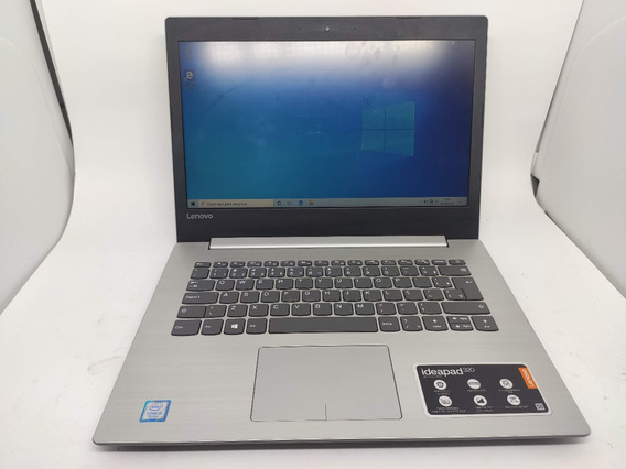Notebook Lenovo Ideapad-320 I5-7200u 4gb Ddr4 Ssd 240gb 14po