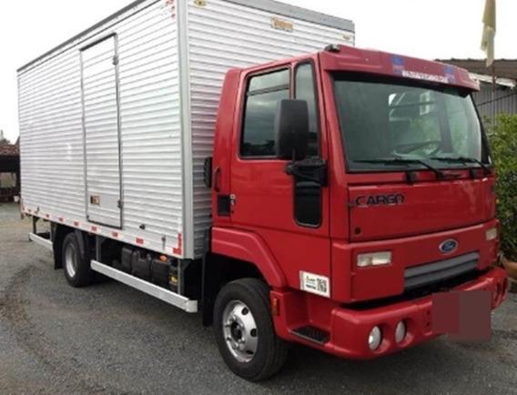 Ford Cargo 816 Baú 2013