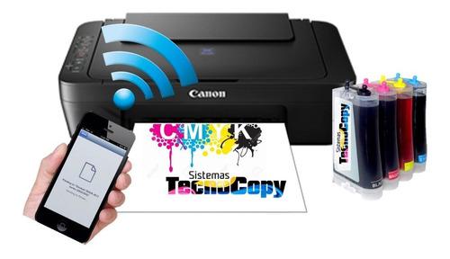 Impresora Canon  Wifi Con Sistema Continuo De Tinta
