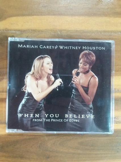 Mariah Carey Whitney Houston When You Believe Single