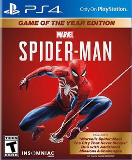 Marvel Spiderman Ps4 - Físico - Sellado - Nuevo - Nextgames