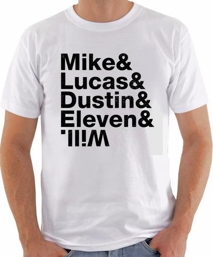 Camisetas, Camisa Personalizada Stranger Things Nomes