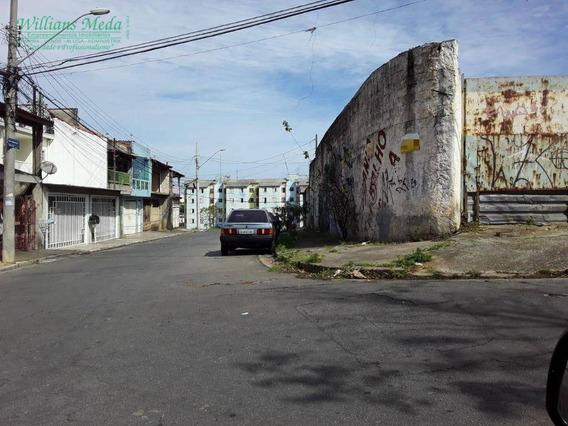 Terreno À Venda, 690 M² Por R$ 1.300.000 - Jardim Santa Cecília - Guarulhos/sp - Te0225