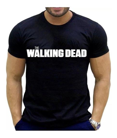 Camiseta 100% Algodão The Fear Walking Dead Series Novidade