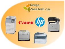 Servicio Técnico De Multifuncionales Láser Canon Y Hp