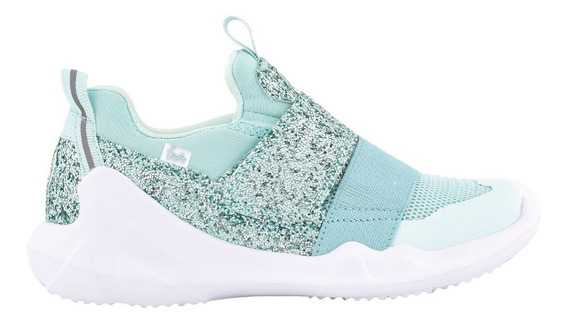 Zapatillas Mini Flexy Aqua Glitter Ultraliviana-footyoficial